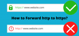 How to Forward http to https for Your Website?
