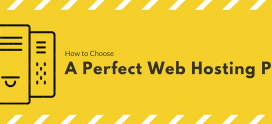How to choose a perfect web hosting plan?