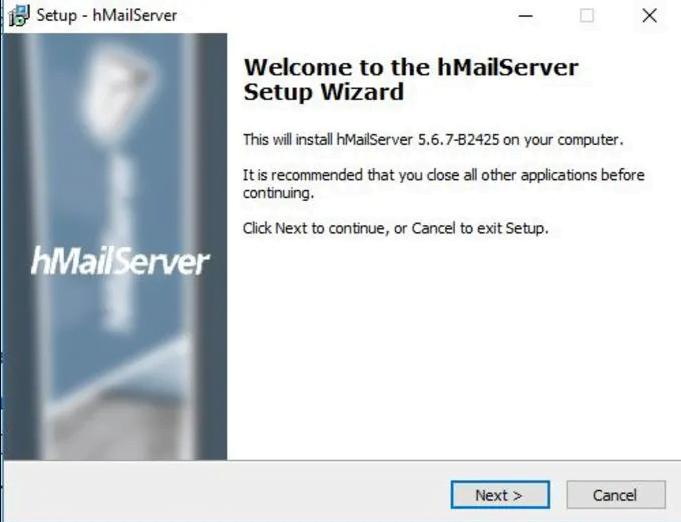 Set Up hmailServer To Run Email Server