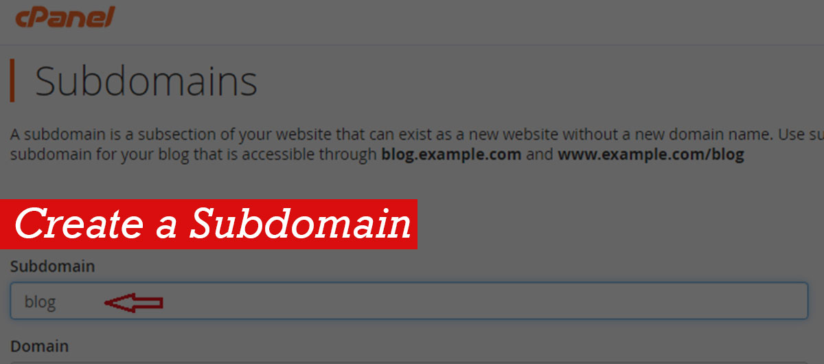 How To Create A Subdomain For Your Domain Within Seconds?