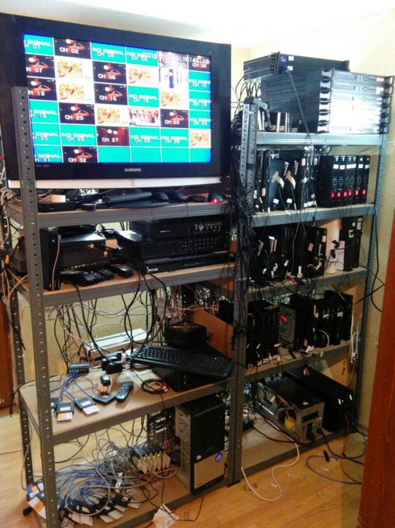 IPTV server type